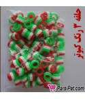 حلقه نانو پليمري قناري - بسته 150 عددي