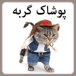 لباس و پوشاک گربه