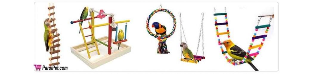 لوازم بازی و سرگرمی پرنده